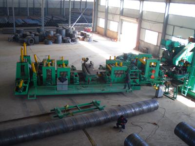 沧州螺旋钢管设备